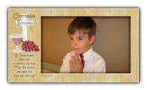 Communion Blessings Photo Frame, Boy