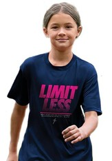 Limitless Shirt, Navy, Youth Medium