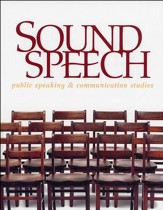 BJU Sound Speech: Public Speaking &  Communication Studies,  Student Edition (Updated Copyright)