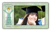 Graduation Blessings, He Shall Give His Angels Photo Frame
