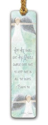For He Shall Give His Angels Bookmark