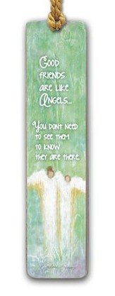 Good Friends Are Like Angels Bookmark