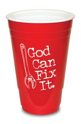 God Can Fix it, Red Solo Cup