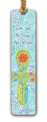 With God, All Things Are Possible Bookmark