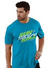 Run the Race Shirt, Blue, Medium
