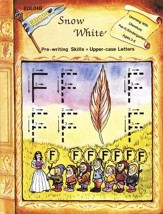 Snow White - Pre-writing skills, Upper-case Letters: Learning with Literature Series - PDF Download [Download]