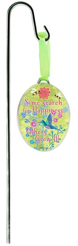 Some Search For Happiness Plant Stake