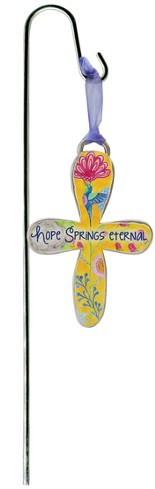 Hope Springs Eternal Plant Stake