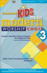Brentwood Kids Music Modern Worship Choir Volume 3