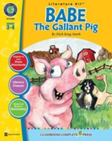 Babe: The Gallant Pig - Literature Kit Gr. 3-4 - PDF Download [Download]