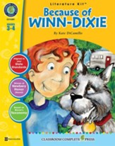 Because of Winn-Dixie - Literature Kit Gr. 3-4 - PDF Download [Download]
