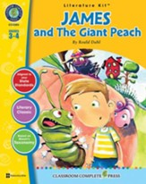 James and the Giant Peach - Literature Kit Gr. 3-4 - PDF Download [Download]