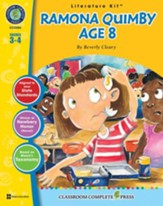 Ramona Quimby, Age 8 - Literature Kit Gr. 3-4 - PDF Download [Download]