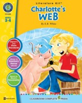 Charlotte's Web - Literature Kit Gr. 3-4 - PDF Download [Download]