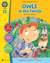 Owls in the Family - Literature Kit Gr. 3-4 - PDF Download [Download]