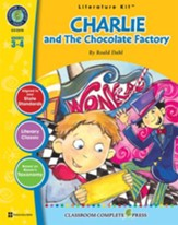 Charlie & The Chocolate Factory - Literature Kit Gr. 3-4 - PDF Download [Download]