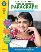 How to Write a Paragraph Gr. 5-8 - PDF Download [Download]