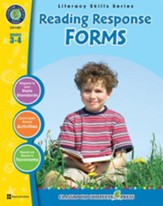 Reading Response Forms Gr. 3-4 - PDF  Download [Download]