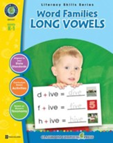 Word Families - Long Vowels Gr. PK-2 - PDF Download [Download]