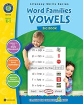 Word Families - Vowels Big Book Gr. PK-2 - PDF Download [Download]