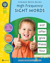 High Frequency Sight Words Gr. PK-2 - PDF Download [Download]