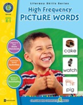 High Frequency Picture Words Gr. PK-2 - PDF Download [Download]