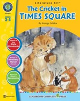The Cricket in Times Square - Literature Kit Gr. 3-4 - PDF Download [Download]