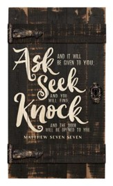 Ask Seek Knock, Door Art