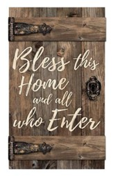 Bless This Home and All Who Enter, Door Art