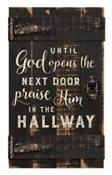 Until God Opens the Next Door, Door Art