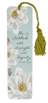 Strength and Dignity, Bookmark
