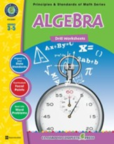 Algebra - Drill Sheets Gr. 3-5 - PDF  Download [Download]