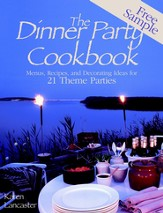 Dinner Party Cookbook-Free Sample: Menus Recipes andDecorating ideas for 2 Theme Parties - eBook