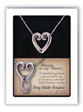 Heart Pendant Ring Holder