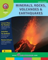 Minerals, Rocks, Volcanoes &  Earthquakes Gr. 4-7 - PDF Download [Download]