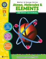 Atoms, Molecules & Elements Gr. 5-8  - PDF Download [Download]