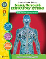 Senses, Nervous & Respiratory Systems Gr. 5-8 - PDF Download [Download]