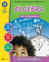 Algebra - Task & Drill Sheets Gr.  3-5 - PDF Download [Download]