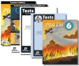 BJU Press Math Grade 6 Homeschool Kit (3rd Edition)