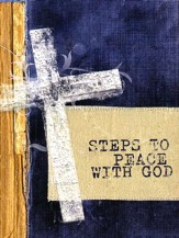 Steps to Peace with God, Cross Version (NKJV) pack of 25 tracts