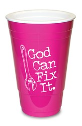 God Can Fix it, Pink Solo Cup