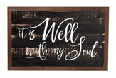It Is Well With My Soul, Framed Decor