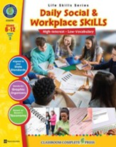 Daily Social & Workplace Skills Gr. 6-12 - PDF Download [Download]