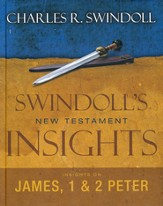 Swindoll's New Testament Insights on James &  1 & 2 Peter - Slightly Imperfect