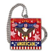 Proud To Be American Car Charm