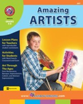 Amazing Artists Gr. 6-8 - PDF Download [Download]