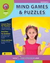 Mind Games & Puzzles Gr. 4-6 - PDF  Download [Download]