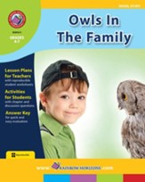 Owls In The Family (Novel Study) Gr. 4-7 - PDF Download [Download]