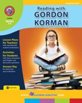 Reading with Gordon Korman (Author Study) Gr. 3-6 - PDF Download [Download]