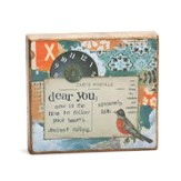 Dear You, Wooden Plaque